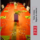 292  - 292 - table d'hotes - table dressée -