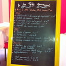 , Restaurant : A la Table Gourmande  - Menu -