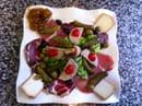 , Plat : A piazza  - Assiette terroir -