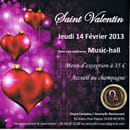 Amaryllis restaurant  - Flyer - Saint Valentin 2013 -