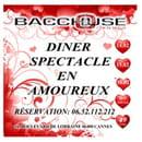 Bacchouse Restaurant Franco-Russe  - Saint Valentin Cannes -   © Bacchouse Cannes