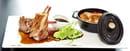 Brasserie Le Parvis  - Cotelettes d'agneau du Quercy -   © la Brasserie Le Parvis