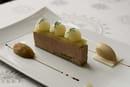 Château de Mercues  - Foie gras frais de canard - Pomme granny et pain d'épices -
