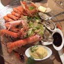 , Entrée : Chez Gaetan  - Assiette de la mer super -