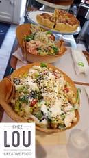 Chez Lou  - Des salades originales à base de produits frais et bio, à consommer sur place, à emporter ou en livr -