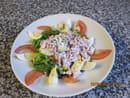 Cybierepizza chez Tetin  - Salade et toast de chèvre chauds -
