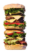 Joe a les Crocs  - burger sergent garcia de 1.3 kg -