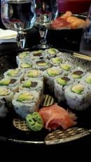 , Plat : Kinoko Sushi