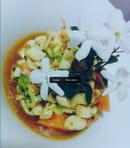 L'Atelier  - Salade de poulpe aux herbes fraîches et aux agrumes de la plaine -