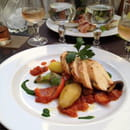 , Plat : L'Entre Temps Restaurant