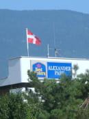L'Evencio - Best Western Alexander Park ***  - Le drapeau de la Savoie sur le toit de l'hotel BestWestern Alexander park *** -   © alexanderpark chambery savoie france