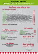 La Botte Gourmande  - verso du flyers -