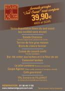 La Chalosse  - menu groupe 39.90 euros -   © chalosse