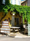 La Farigoulette  - jolie terrasse ombragée -   © Ghislain