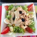 , Plat : La Marina  - Salade fermière . -