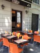 La Monella  - La terrasse - Pizzeria La Monella Lyon -