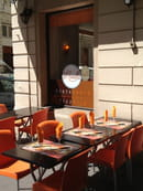 La Monella  - La terrasse ombragée - Pizzeria La Monella Lyon -