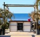 La Plage des Bikinis  - le bar de plage -