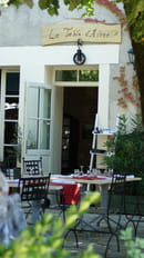 La Table d'Aline  - terrasse -