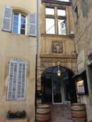 La Table du Roy  - l'entrée du restaurant -   © la table du roy