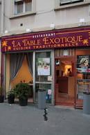 La Table Exotique