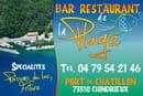 Le Bar Restaurant de la Plage