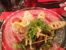 , Entrée : Le Café Foutu  - Rilette de saumons maisons. Un régal  -