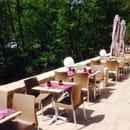 , Restaurant : Le Gard 1895  - Terrasse au bord de la bevera jusqu'à 60 personnes  -