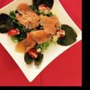 , Entrée : Le Mel'Laure  - Salade de saumon maison ! -