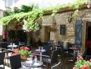 Le Mûrier  - terrasse du restaurant -   © le Mûrier