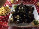 , Plat : Le pignon  - Parillada de crustacés  -