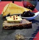 Le Quai 76  - duo de foie gras et terrine de canard confits maison  -
