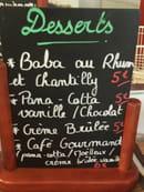 , Dessert : Le Raimbaldi  - Carte des desserts -