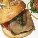 , Plat : Le TIti Lulu  - Hamburger au canard et foie gras -