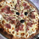 , Plat : LE VESUVIO  - Pizz carbonara -