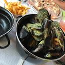 , Plat : LE VESUVIO  - Moules curry -