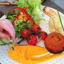 , Plat : Le Vigosche  - Assiette de légumes pour un enfant  -