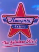 , Restaurant : Memphis Coffee  - Logo -