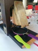 , Plat : O Chalet  - Raclette  -