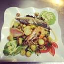 , Entrée : Pascal Paoli  - Salade du pêcheur  -