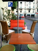 Pastapatou Bar à Pâtes  - coin lounge en terrasse  -