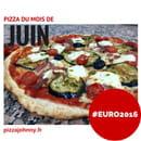 Pizza Johnny  - La pizza du mois de juin : #EURO2016 -   © Pizza Johnny