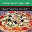 Pizza Johnny  - Pizza du mois de juin ! -   © Pizza Johnny