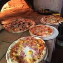 , Plat : Pizzeria l'Asti  - Pizza au feu de bois -