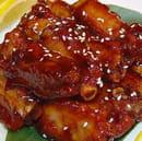 Restaurant Asiatique Niouniou  - porc caramelisé -   © restaurant chinois niouniou