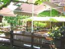 Restaurant Beausoleil  - encore la terrasse -