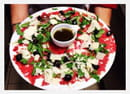 , Restaurant : Restaurant Caro & Co  - Carpaccio de bœuf race bazadaize  -