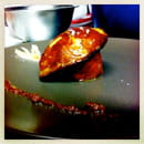 Restaurant Epicetou  - tartare de thon a la framboise escalope de foie gras poele -