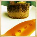 Restaurant Epicetou  - royal chococolat, gingembre confit chips de piment -
