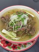 Restaurant Hà-Tién- Petite Diana  - Soupe « Phó » de Saïgon au bœuf -